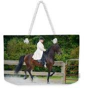 Class 31  Open Saddle Seat Pleasure  Weekender Tote Bag