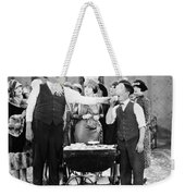 Film Still: Eating & Drinking Weekender Tote Bag
