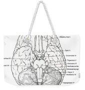 Illustration Of Cranial Nerves Weekender Tote Bag