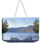 Lake Maggiore Weekender Tote Bag by Joana Kruse