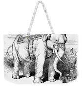 Presidential Campaign, 1884 Weekender Tote Bag