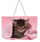 Tabby Kitten Weekender Tote Bag