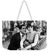 Theda Bara (1885-1955) Weekender Tote Bag