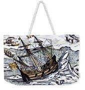 Willem Barents (c1550-1597) Weekender Tote Bag