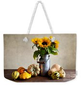 Autumn Weekender Tote Bag by Nailia Schwarz