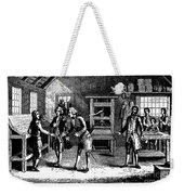 Benjamin Franklin Weekender Tote Bag