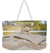 Fairytale Sand Sculpture  Weekender Tote Bag