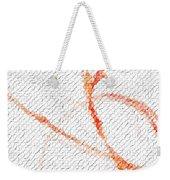 Fractal Weekender Tote Bag