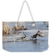 Hooded Merganser Weekender Tote Bag