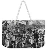 Immigrants: Castle Garden Weekender Tote Bag