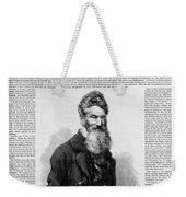 John Brown, American Abolitionist Weekender Tote Bag