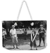 Silent Film Still: Golf Weekender Tote Bag
