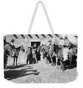 Silent Film Still: Western Weekender Tote Bag
