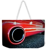 94 Vette Side Pipes Weekender Tote Bag