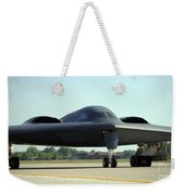 A B-2 Spirit Taxis Onto The Flightline Weekender Tote Bag