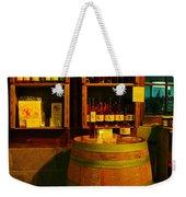 A Barrel And Wine Weekender Tote Bag