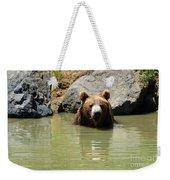 A Bear's Hot Tub Weekender Tote Bag