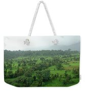 A Beautiful Green Countryside Weekender Tote Bag