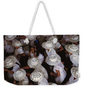 A Birds-eye View Of Women Dressed All Weekender Tote Bag