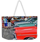 A Blast Of Color - Auto Row 7708 Weekender Tote Bag