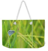 A Blue And Grass Weekender Tote Bag