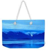 A Blue Slice Of Alaska Coast Weekender Tote Bag