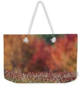 A Blueberry Patch Alongside Maines Weekender Tote Bag
