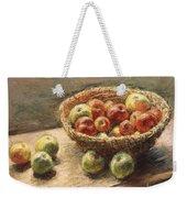 A Bowl Of Apples Weekender Tote Bag