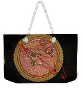 A Bowl Of Rakhis In A Decorated Dish Weekender Tote Bag