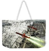 A Bqm-74e Aerial Drone Launches Weekender Tote Bag