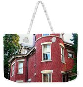 A Brick House With A Turret Weekender Tote Bag