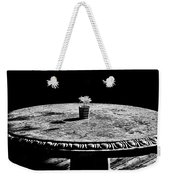 A Bright Spot - Bw Weekender Tote Bag