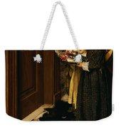 A Carol Weekender Tote Bag by Laura Theresa Alma-Tadema