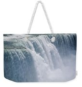 A Cascade Of Water Thunders Weekender Tote Bag