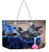 A Cats Function Weekender Tote Bag