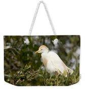 A Cattle Egret Bubulcus Ibis Weekender Tote Bag