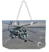 A Ch-53e Super Stallion Approaches Weekender Tote Bag