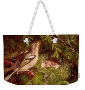 A Chaffinch At Its Nest Weekender Tote Bag