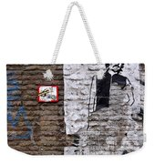 A Character On The Wall Weekender Tote Bag by RicardMN Photography