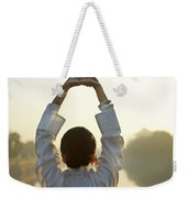 A Chinese Woman In Her 20s To 30s Doing Weekender Tote Bag