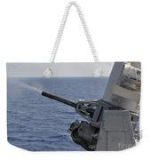A Close-in Weapons System Aboard Weekender Tote Bag