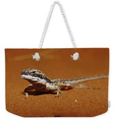 A Close View Of A Military Sand Dragon Weekender Tote Bag
