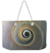 A Close View Of A Moon Snail Shell Weekender Tote Bag