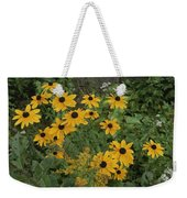 A Close View Of Black-eyed Susans Weekender Tote Bag