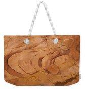 A Close View Sandstone Rocks Of Petra Weekender Tote Bag