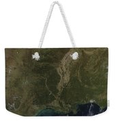 A Cloud-free View Of The Southern Weekender Tote Bag by Stocktrek Images