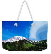 A Cloud Near Mt Rainer  Weekender Tote Bag