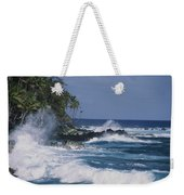 A Coastal View Of The Southeast Corner Weekender Tote Bag
