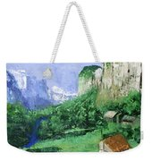 A Cold Clear Day Weekender Tote Bag