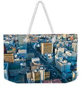 A Cold Day In Sendai Japan Weekender Tote Bag